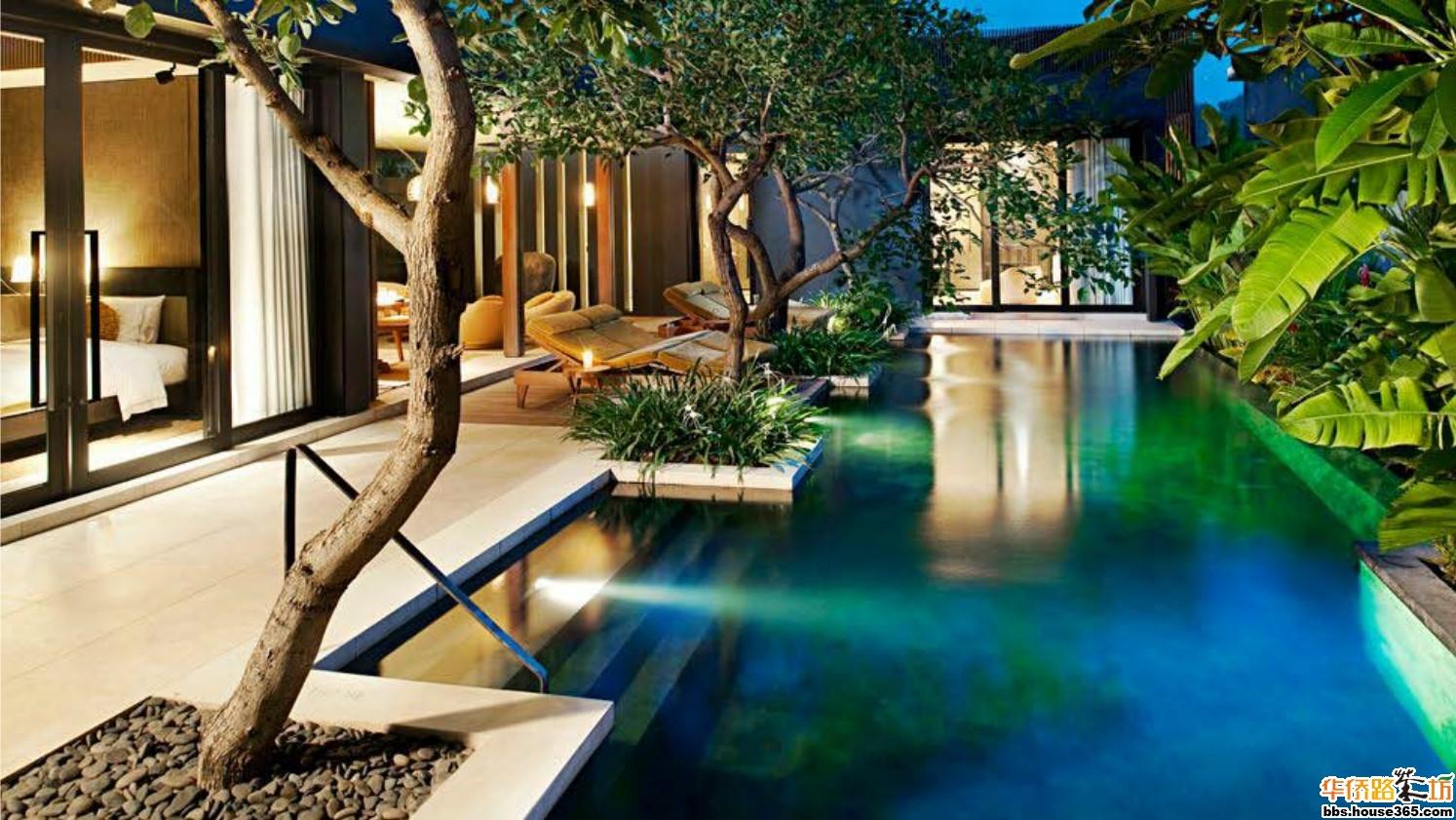 巴厘岛度假胜地spa水疗设计赏; 巴厘岛水明漾w度假酒店 前所未见的新