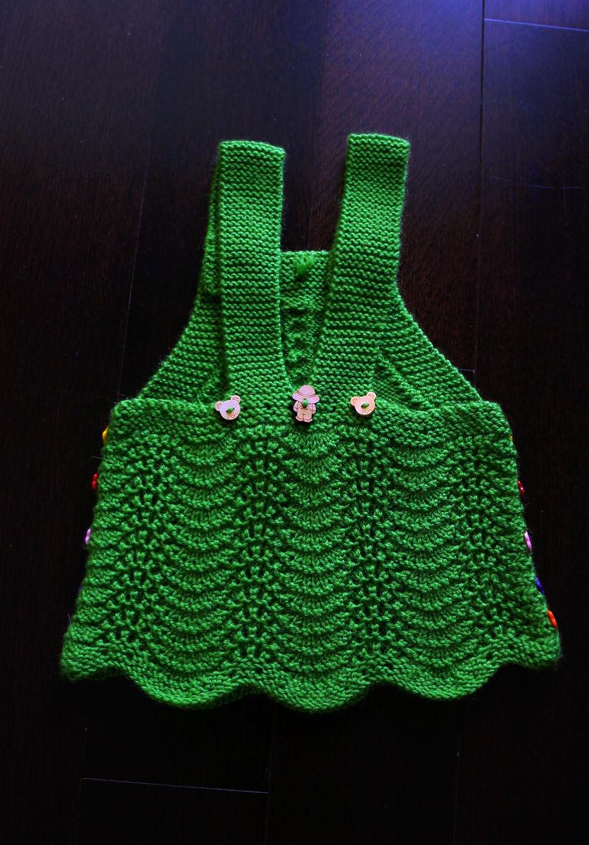 看看我家那口子手工编织的小裙子.