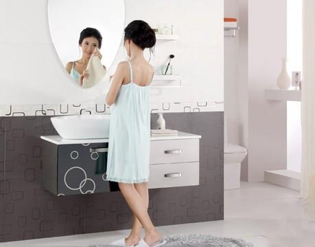 洗脸盆水高度_