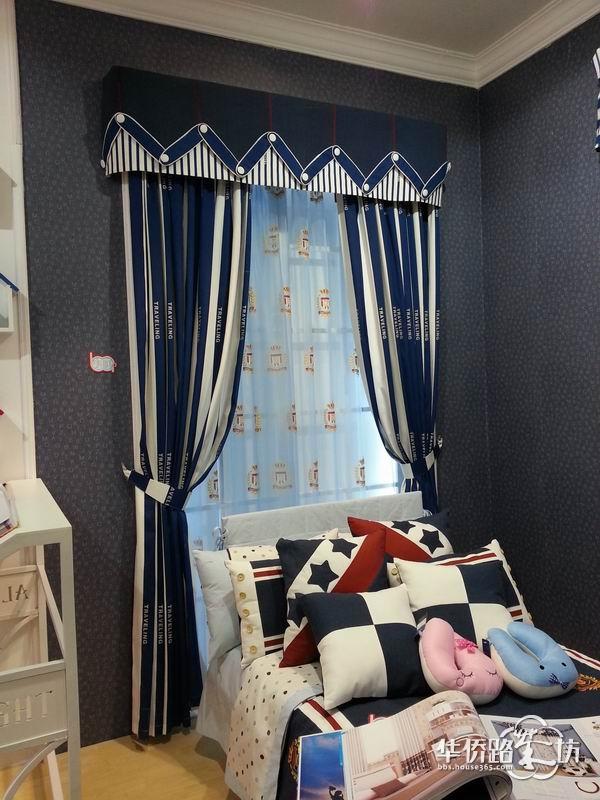 如何打造儿童房,窗帘装饰必不可少