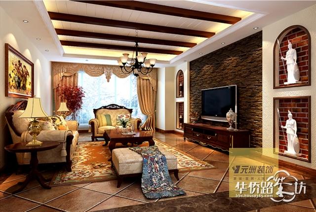 文化石墙创意设计图片欧式客厅