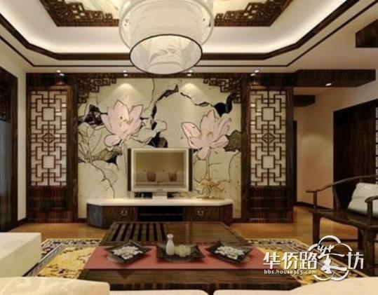 室内手绘效果图,10款手绘背景墙,打造不一样风格的家装设计!