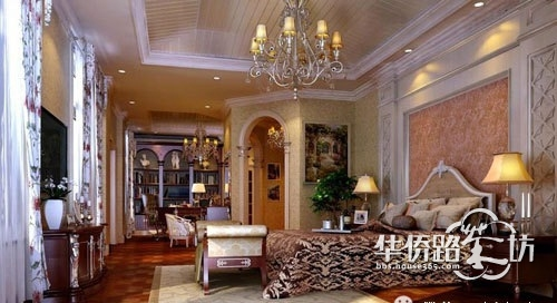 【北京清锦源私人别墅设计】---低调奢华的欧式优雅