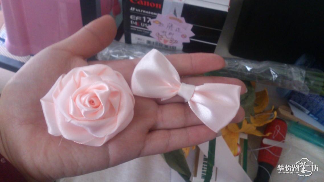 手做丝带玫瑰
