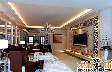 简约欧式客厅装修效果图&nbsp图片