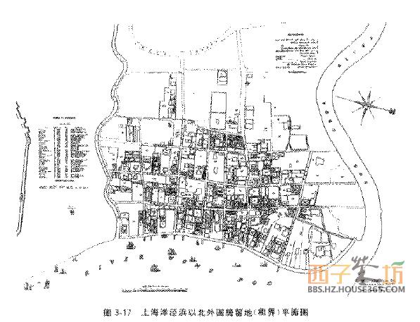 外国居留地(租界)平面图