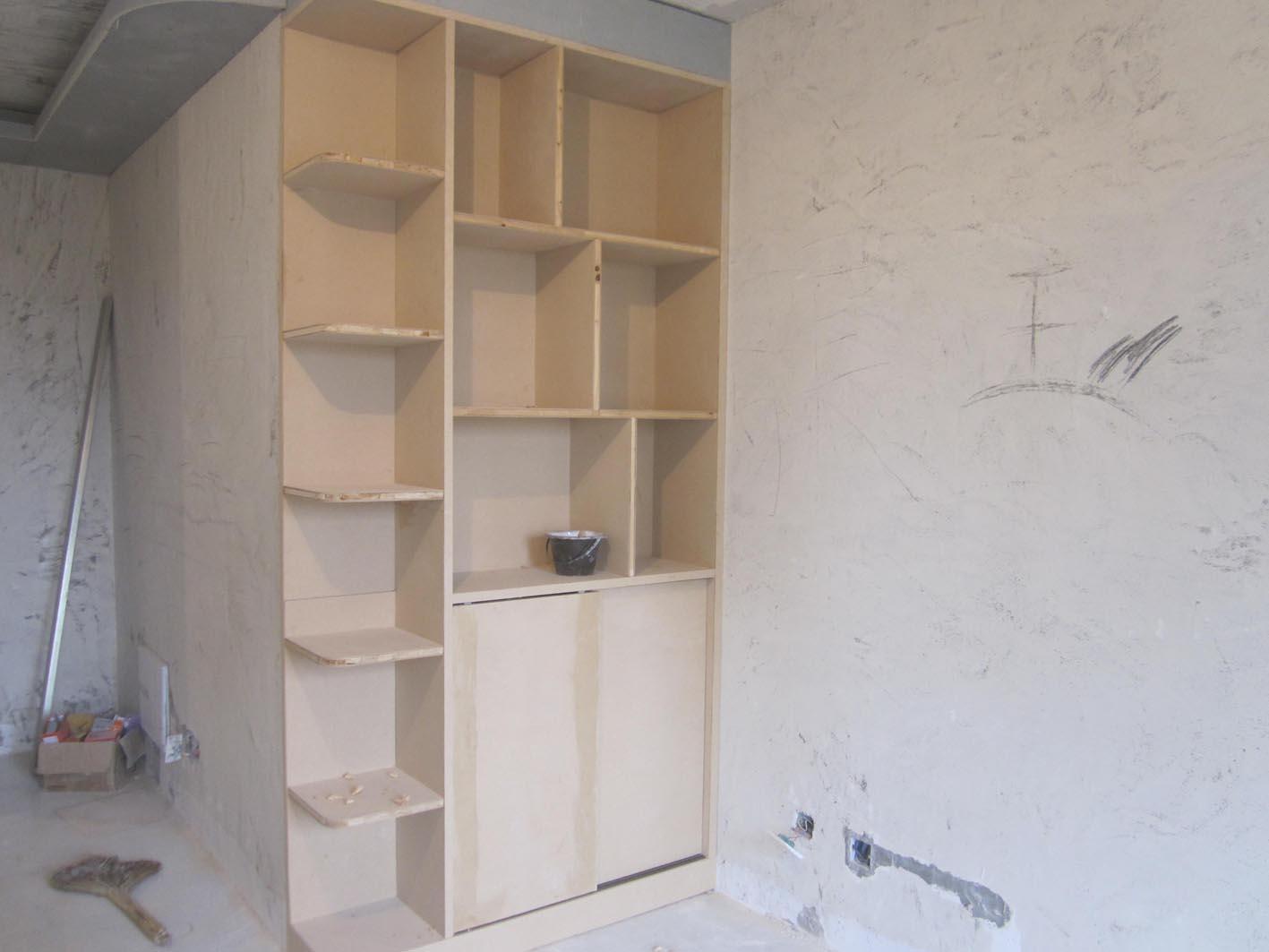 木工装饰柜子效果图