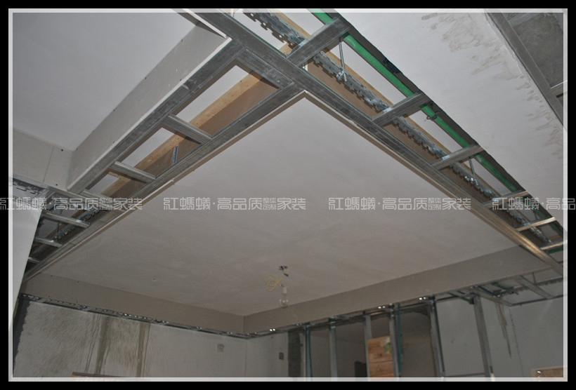 轻钢龙骨吊顶绕墙结构