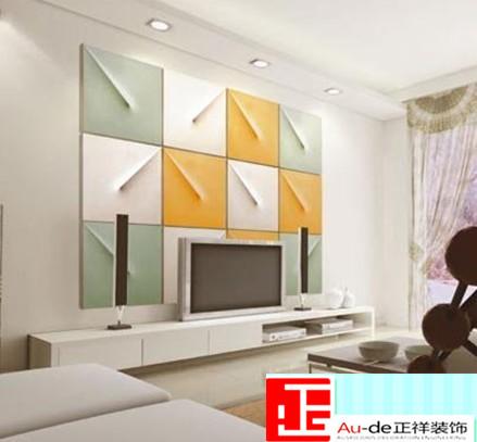 室内设计电视背景墙