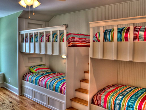 高低床小房间设计图卧室图片