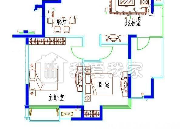 【栖霞美达浅草明苑二手房,3室2厅1卫164万元】美达
