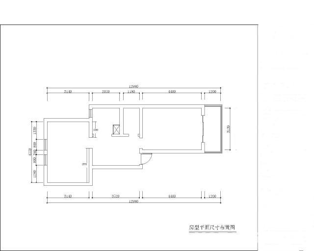 开120平饭店平面设计图