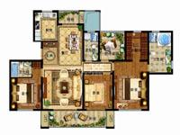 津西新天地E户型3+1室两厅三卫 170平