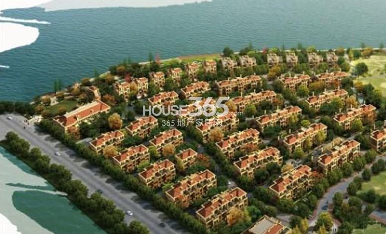 中海独墅岛鸟瞰图