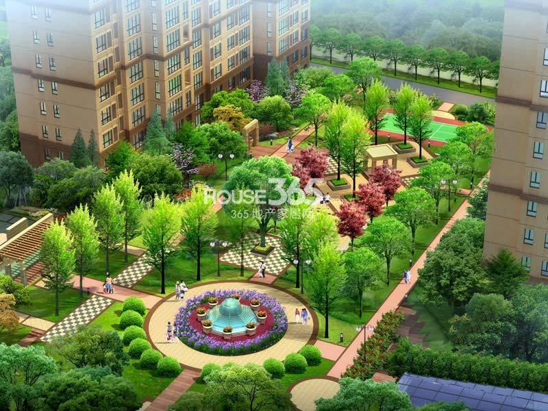 曲江风景线曲江风景线夜景图-西安365地产家居网