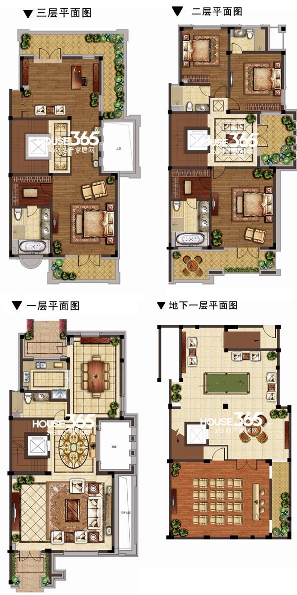 别墅F户型图