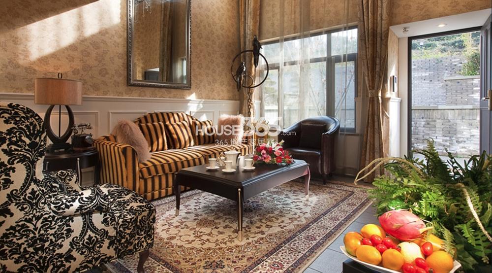 涵园欧式别墅客厅