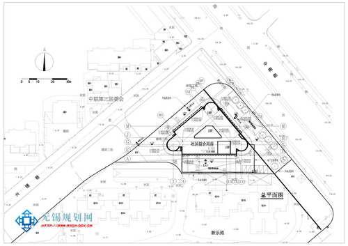 征地拆迁安置房(新乐苑社区服务用房)项目规划设计批