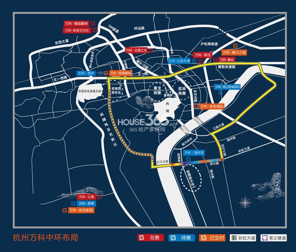 青岛城阳万科桃花园地图