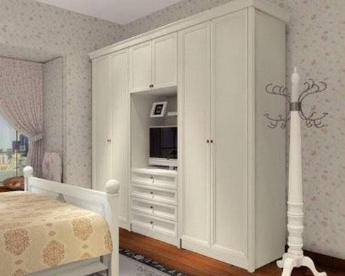 > 2012最新款卧室整体衣柜效果图大全欣赏