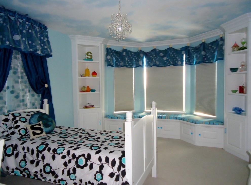 主卧室带飘窗装修效果图