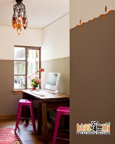 小型书房装修效果图 实用的活动空间