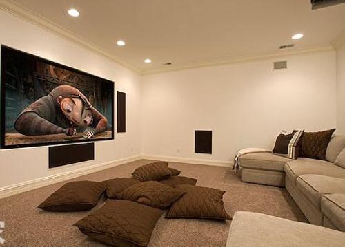 家庭影院装修效果 14图精彩设计视听享受-365地产
