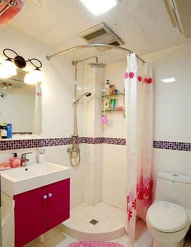 小户型卫生间装修图片 2-3平米空间?#26448;?#26102;尚