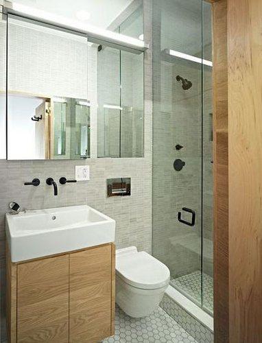 小户型卫生间装修图片 2 3平米空间也能时尚