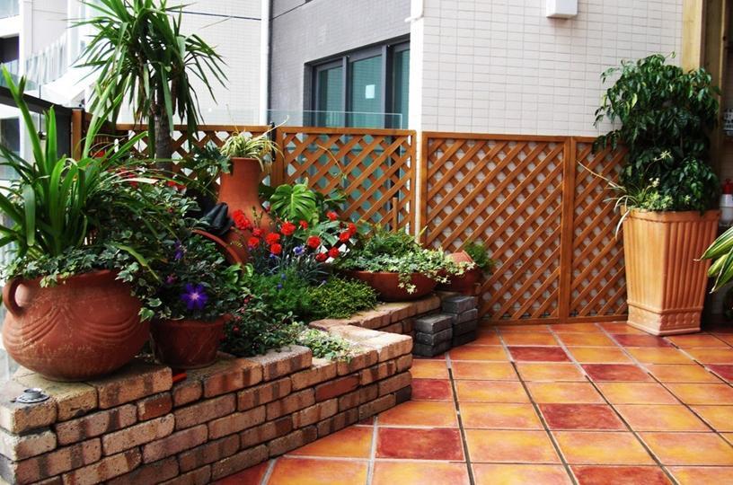 15入户阳台装修效果图自然惬意好生活
