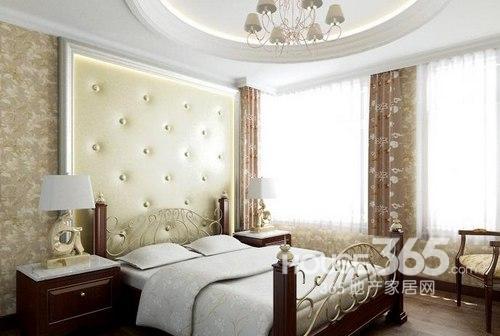 欧式卧室装修效果图:欧式田园风情的卧室装修
