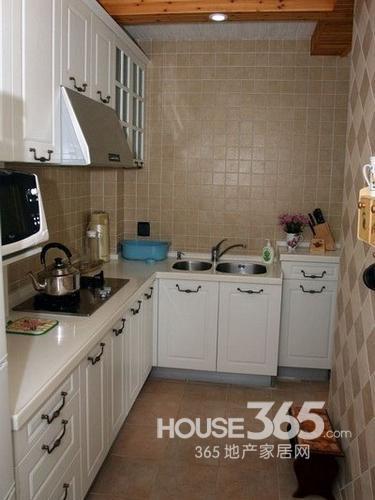 厨房装修效果图欣赏:小户型厨房装修借鉴