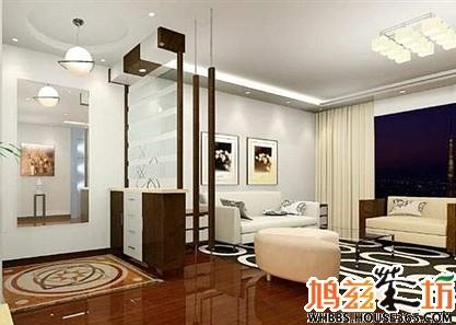 客厅玄关装修效果图 家庭的第一道靓丽风景 h 红星美凯龙