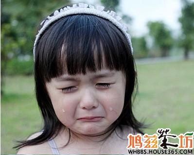 一个小女生哭泣表情全写真!