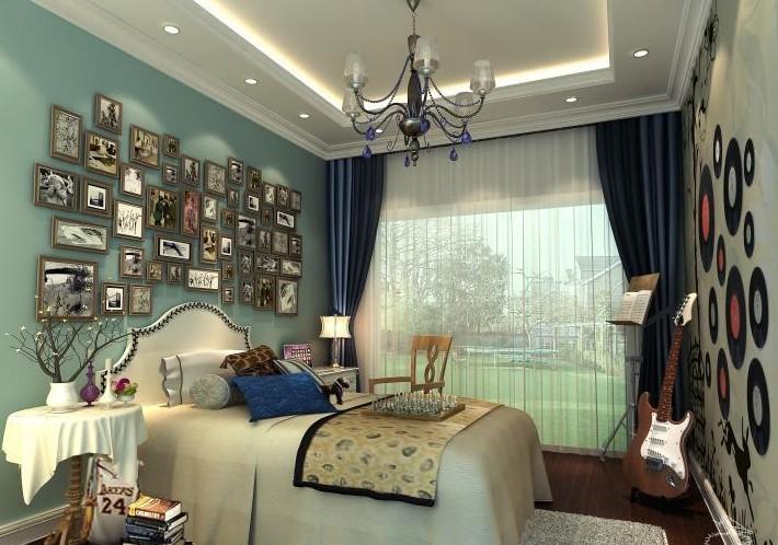 少年房装修效果图 少男少女的房间应该是怎样的?