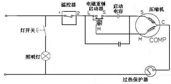 srl_cd4075压缩机控制电路图