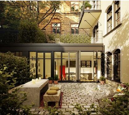 露台雨棚阳光房花园