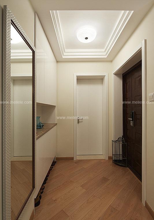 门口鞋柜装修效果图 既时尚又美观的鞋柜设计高清图片