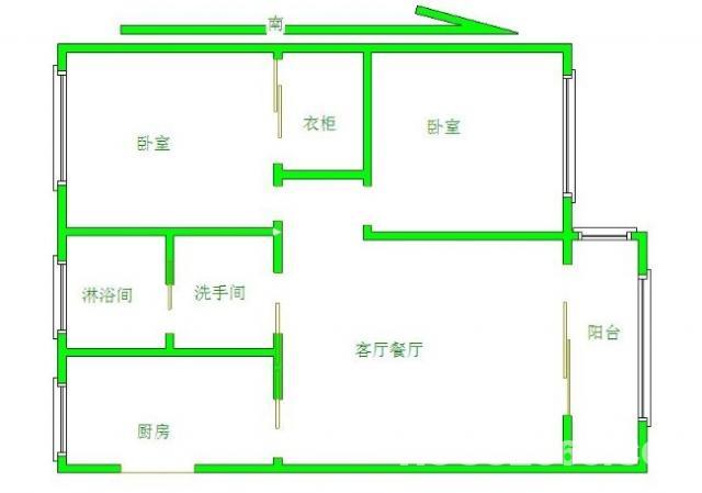 曹张新村2室扬名小学学区可用5楼超市、菜场应有尽有出行方便!